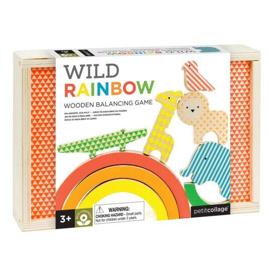 Wild Rainbow Wooden Balancing Game
