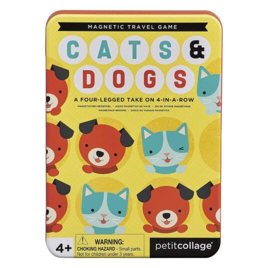 Cats & Dogs - Magnetic Travel Game
