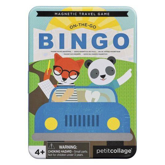 On-the-Go Bingo Magnetic Travel Game