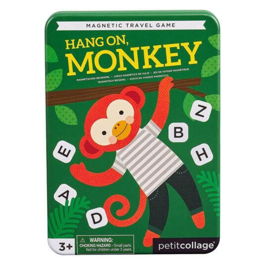 Hang On, Monkey - Magnetic Travel Game
