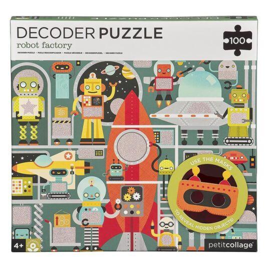 Robot Factory Decoder Puzzle