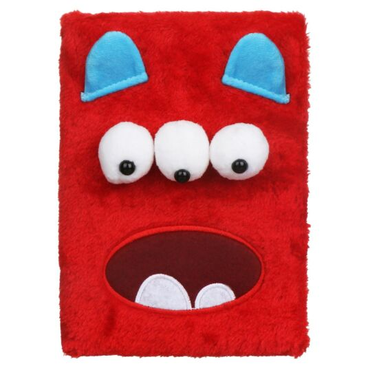 Monstarz Monster Red Fluffies Notebook