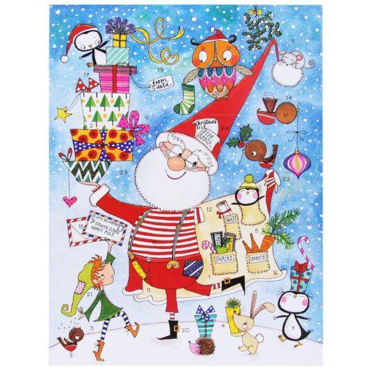 Santa's Big Night Activity Advent Calendar