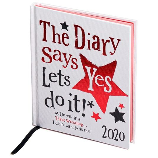 'The Diary Says Yes' 2020 Diary