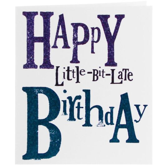 """belated birthday"""" width=""""500″ height=""""400″ /> Be The First ..."""