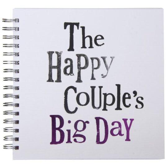 The Bright Side Happy Couples Big Day Wedding Album