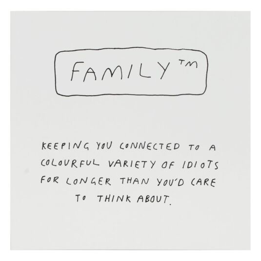 Good Things Family Card