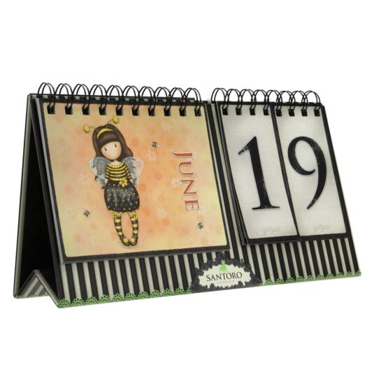 Little Red Riding Hood Perpetual Calendar