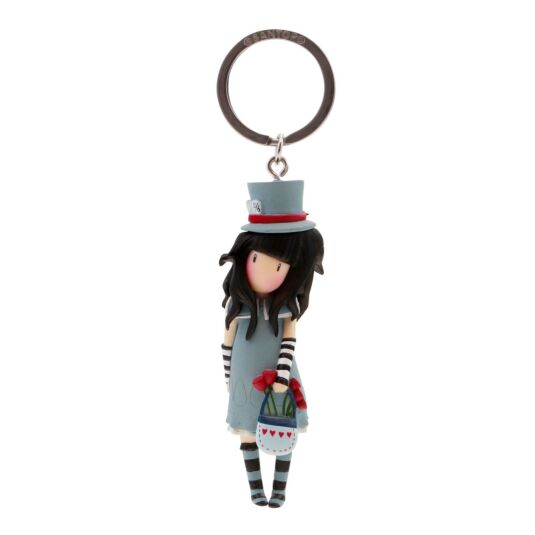 The Hatter Figurine Keyring