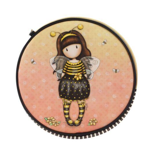 Bee-Loved Round Shoulder Bag