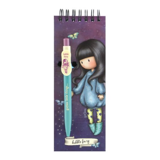 Bubble Fairy Jotter Pad with Pen