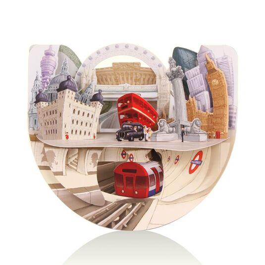 Pop n Rock Card – London