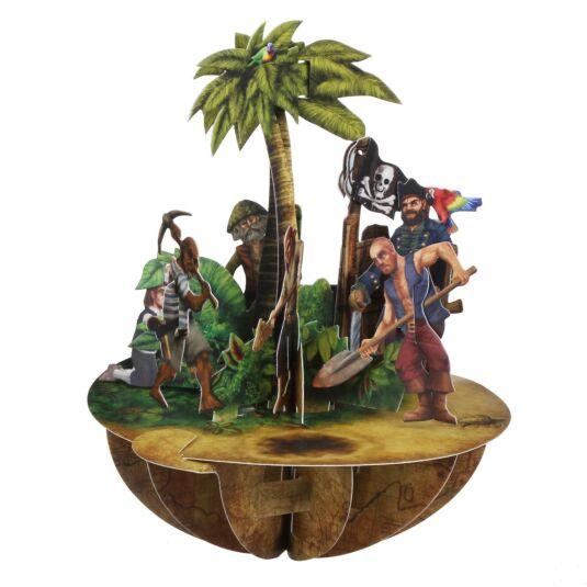 Pirouettes Card – Pirates