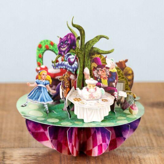 Pirouettes Card – Alice in Wonderland