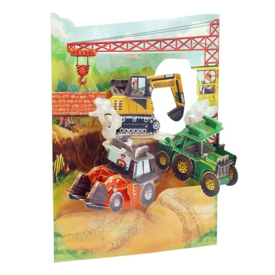Swing Card – Tractors and Diggers