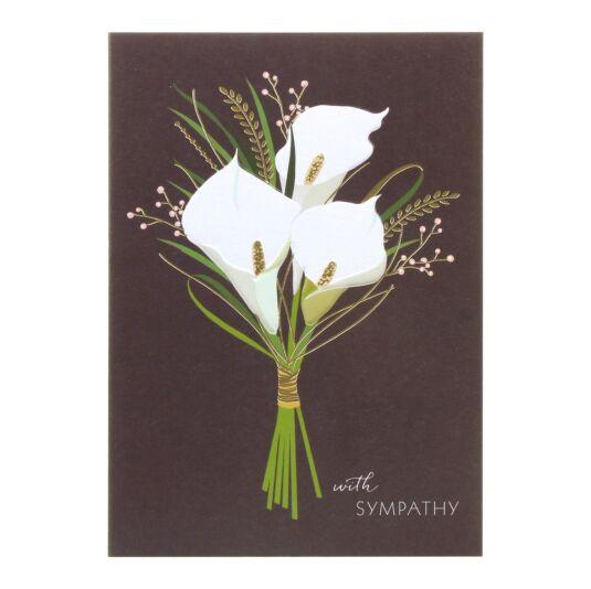Sympathy Lillies Card