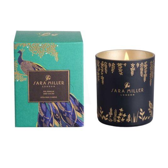 Fig, Vanilla, & Cacao Soya Wax Candle