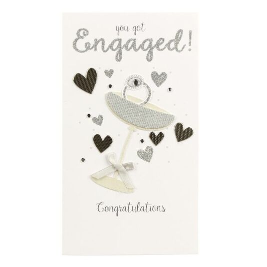 Second Nature 'You Got Engaged!' Card