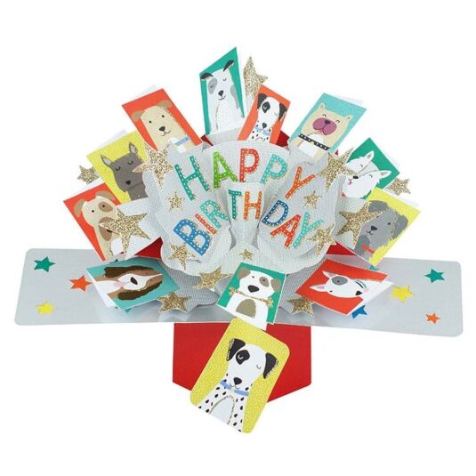 'Happy Birthday' Pop Up Card