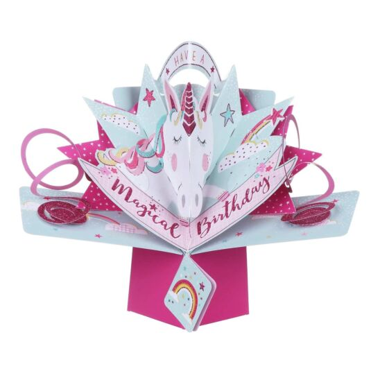 'Magical Birthday' Pop Up Card