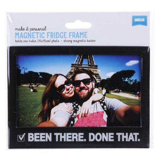 'Been There Done That' Fridge Frame