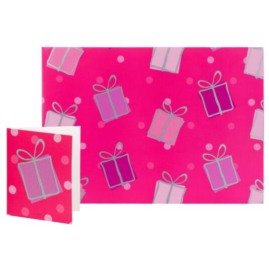 Simon Elvin Pink Presents Designer Gift Wrap