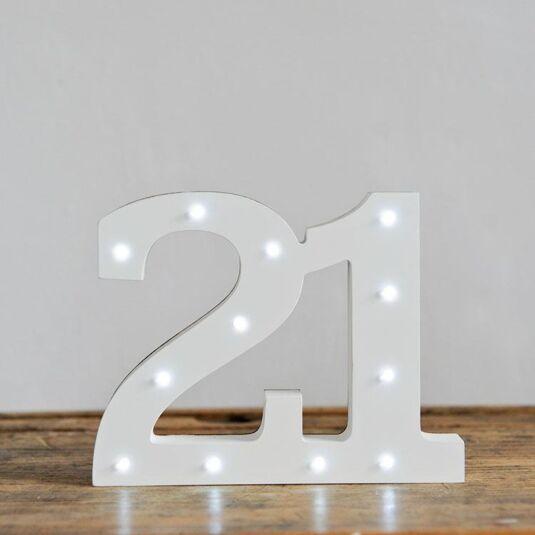 LED Number - 21