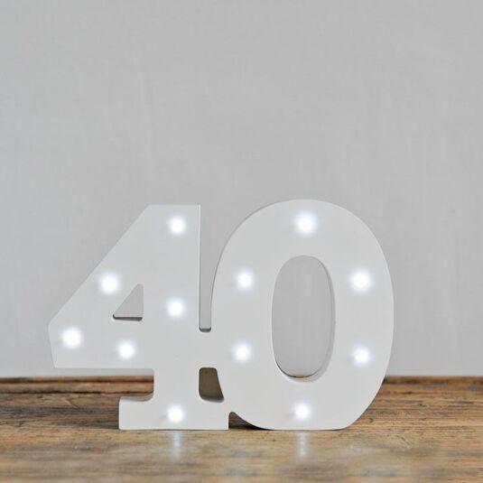 LED Number -  40