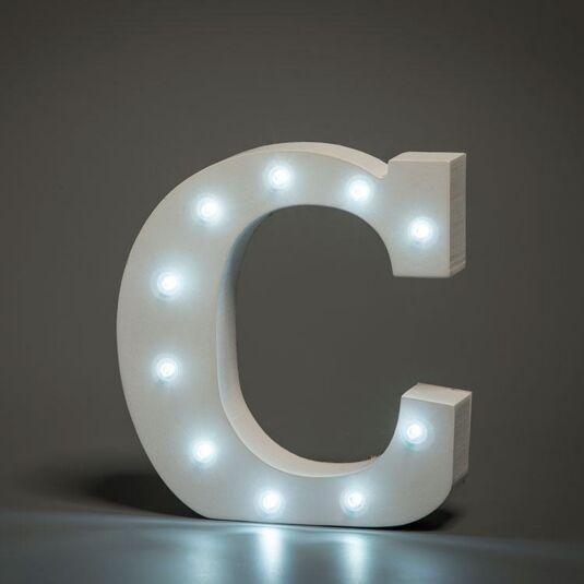 LED Alphabet Letter - C