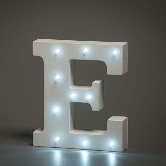 LED Alphabet Letter - E