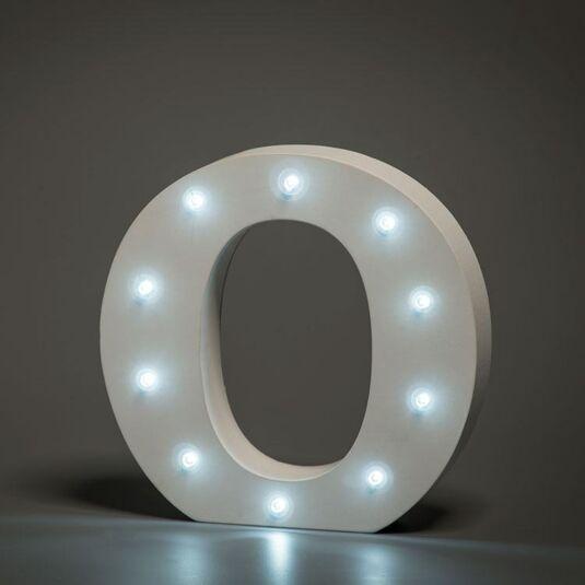 LED Alphabet Letter - O