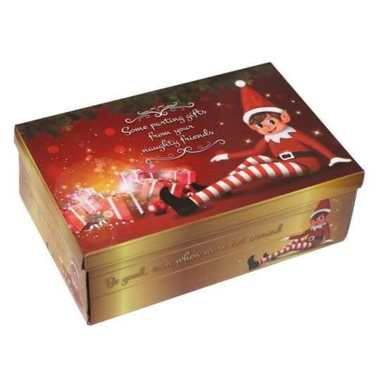 Elves Behavin' Badly Elf Eve Christmas Gift Box