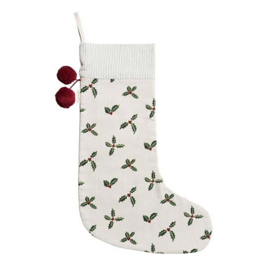 Christmas Holly & Berry Christmas Stocking