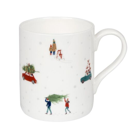 Home for Christmas Boxed Mug