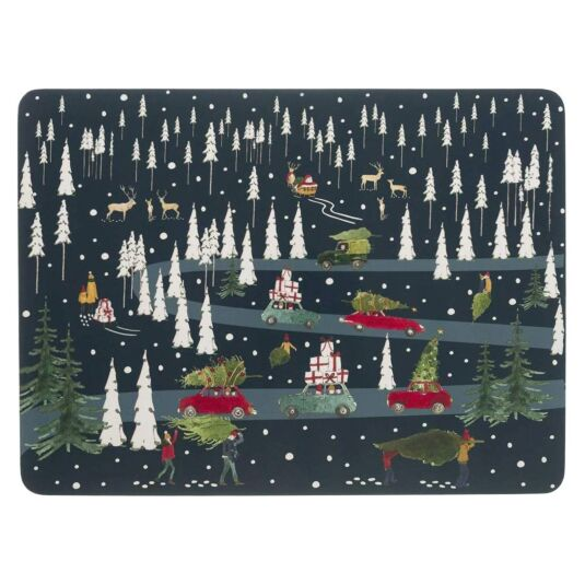 Home for Christmas Set of 4 Placemats