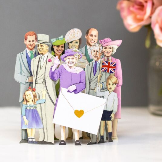 'The Family' 3D Pop Up Card