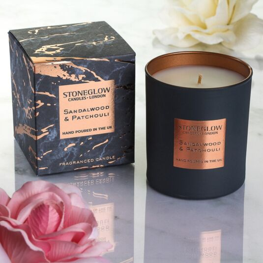Luna Sandalwood & Patchouli Candle