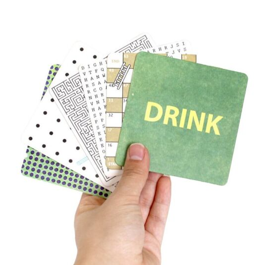 Bar Games Drink Mats