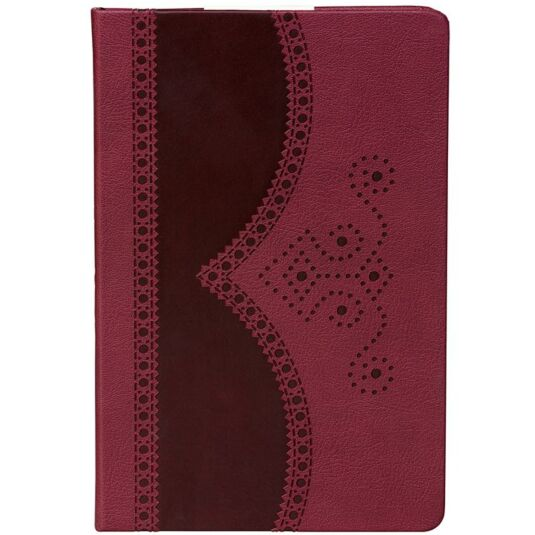 A5 Oxblood Brogue Notebook