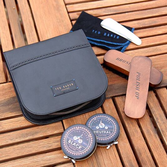 Space & Time Shoe Shine Kit