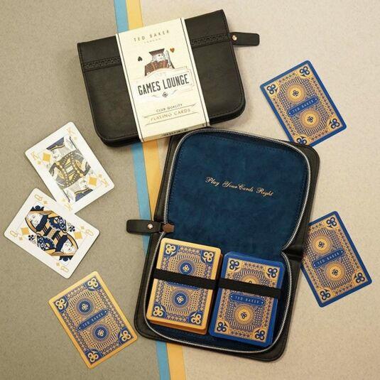 Brogue Black Playing Card Set