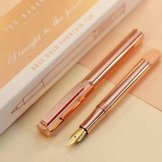 Rose Gold Premium Fountain Pen