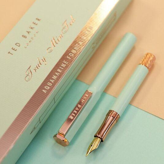 Aquamarine Premium Fountain Pen