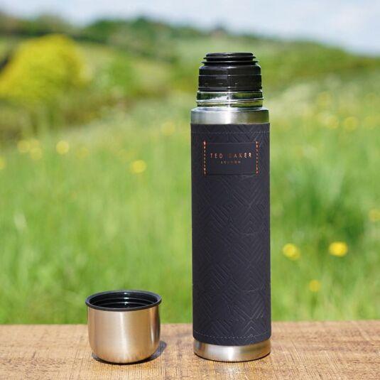 Blue Cadet Flask