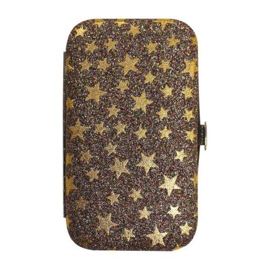 Gold Glitter Stars Manicure Set