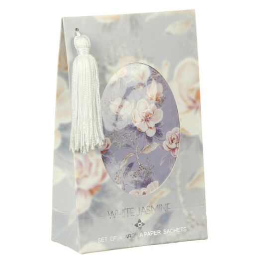 White Jasmine Set of 4 Aroma Paper Sachets