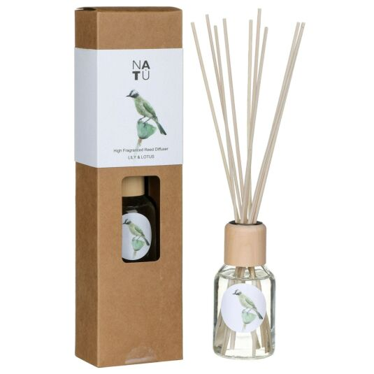 NATU Lily & Lotus 100ml Reed Diffuser
