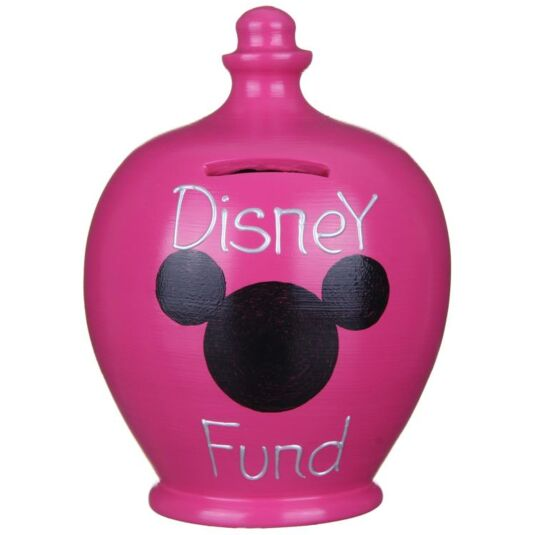Pink Disney Fund Money Pot