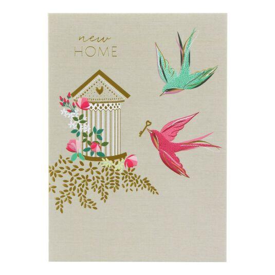 New Home Birds Card