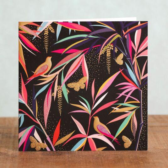 Birds & Butterflies Card